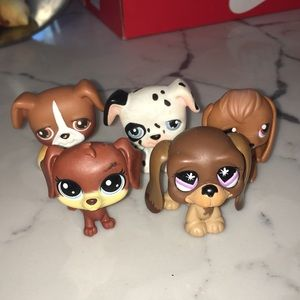 Lot of LPS dogs 2 for $5